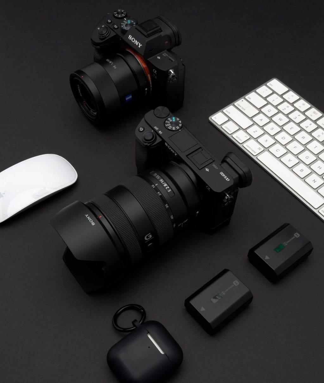 Sony full-frame vs crop Sensor Mirrorless Cameras