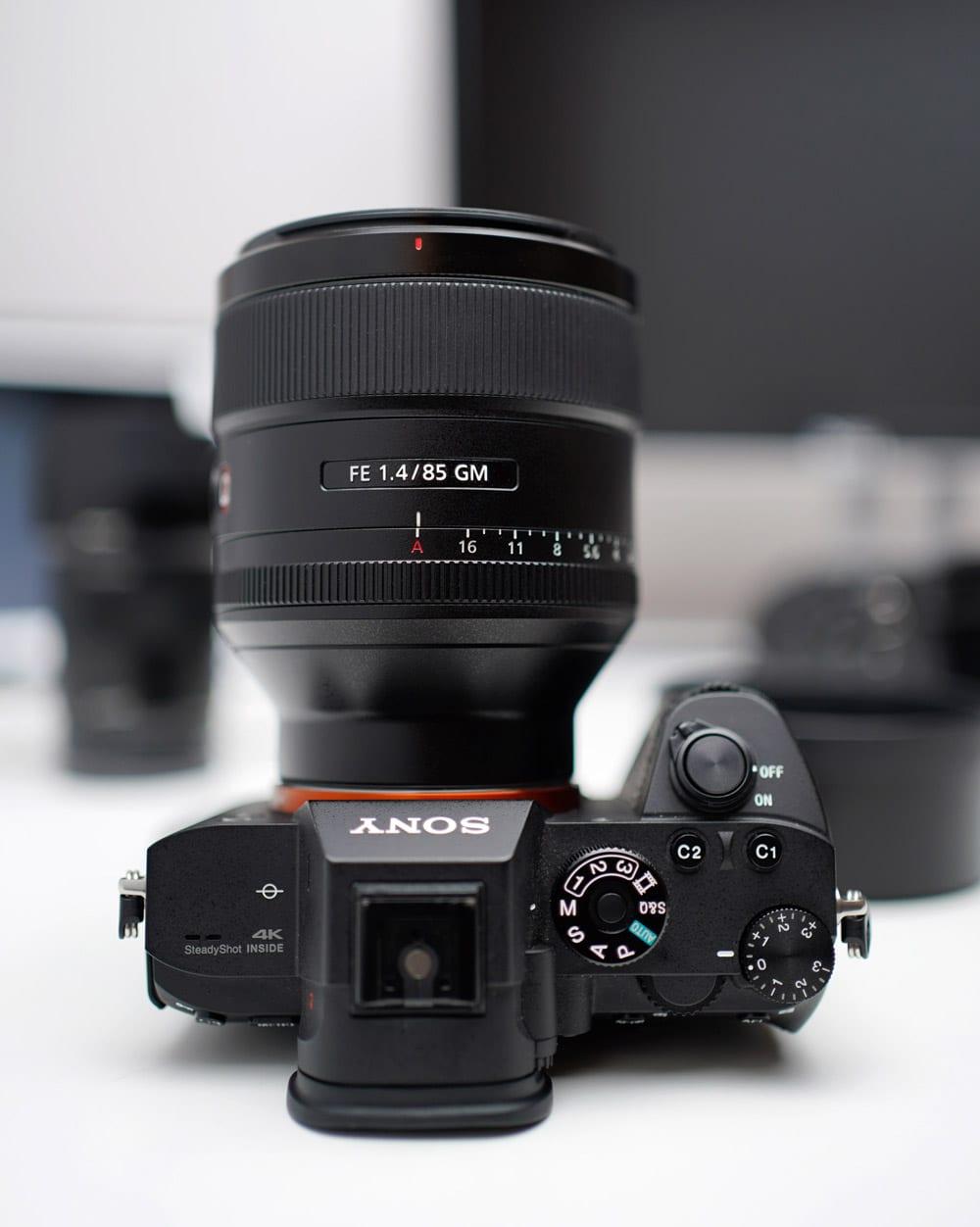 Sony a7riii Sony 85mm GMaster Lens