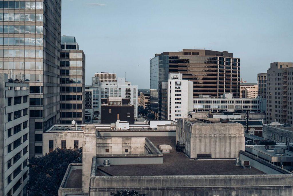 Visit downtown for ideas portrait shoot locations