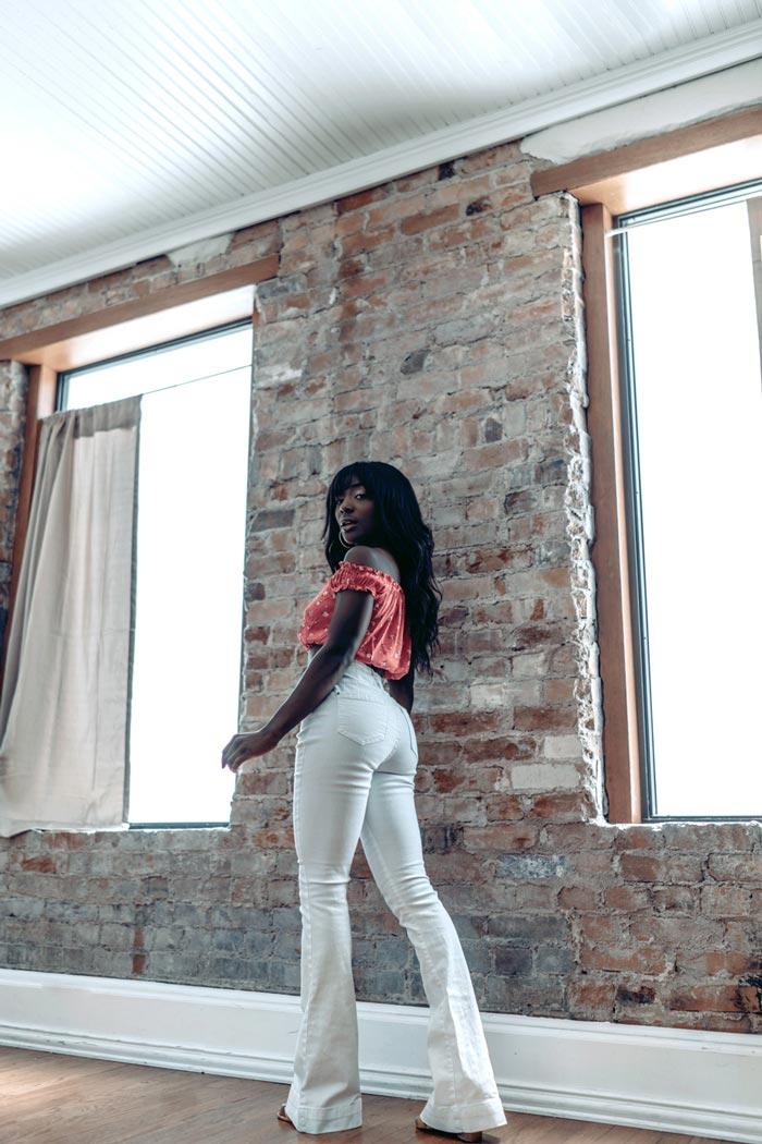 Sony Portrait Photography Mackenzie look back