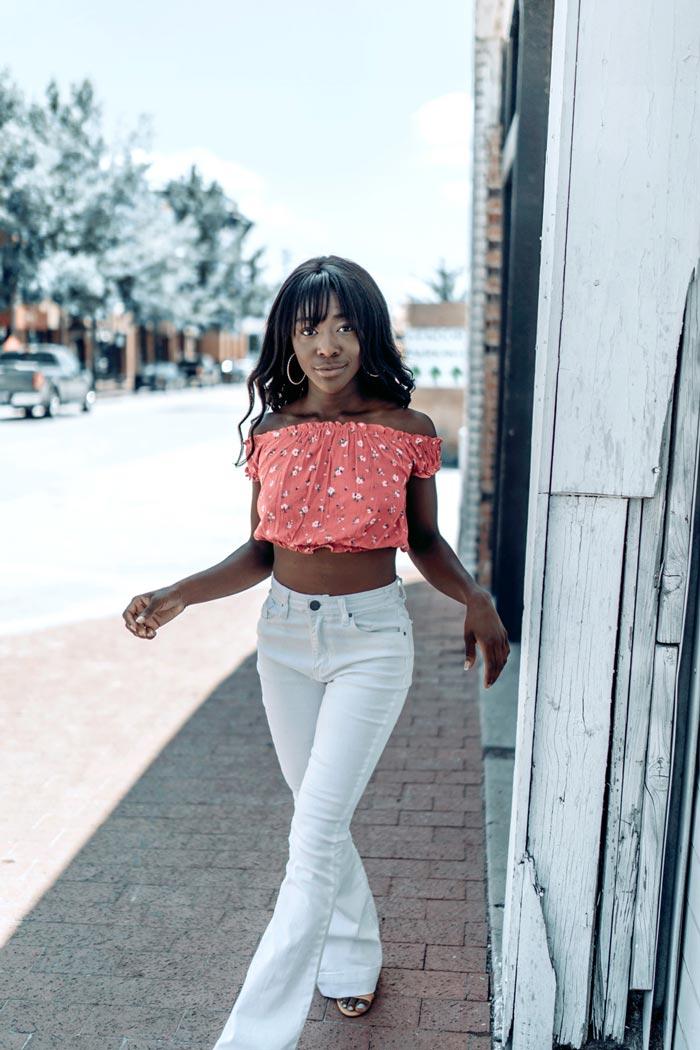 Sony Portrait Photography Mackenzie sidewalk