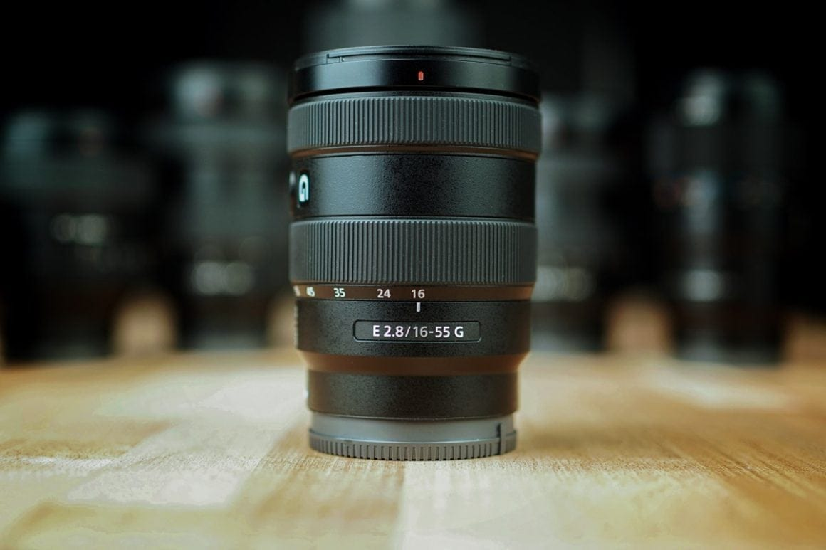Sony 16-55mm portrait lens f2.8