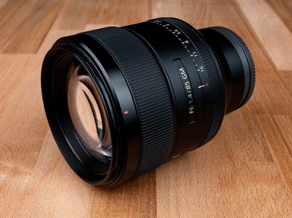 Sony 85mm f1.4 Portrait Lens