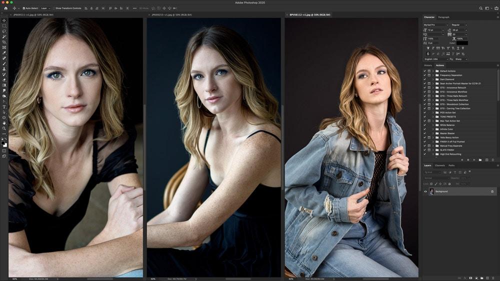 Portrait Shoot Breakdown - Photoshop