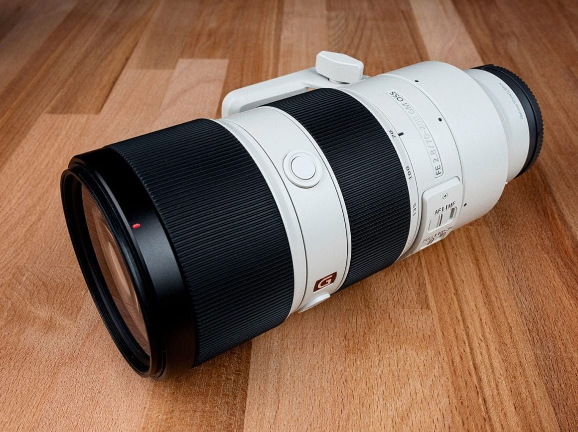 Sony 70-200mm f2.8 Portrait Lens