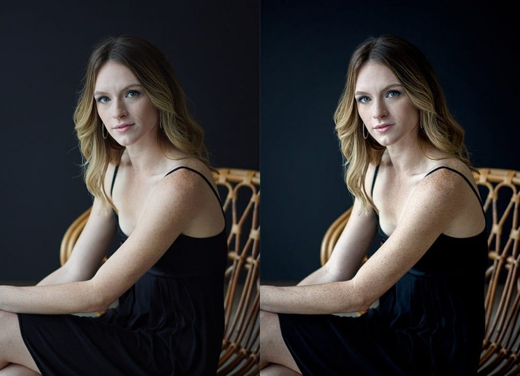 Before and After Sony a6600 Sony 55mm f1.8 Close up