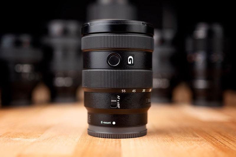 16-55mm f2.8 APSC zoom lens