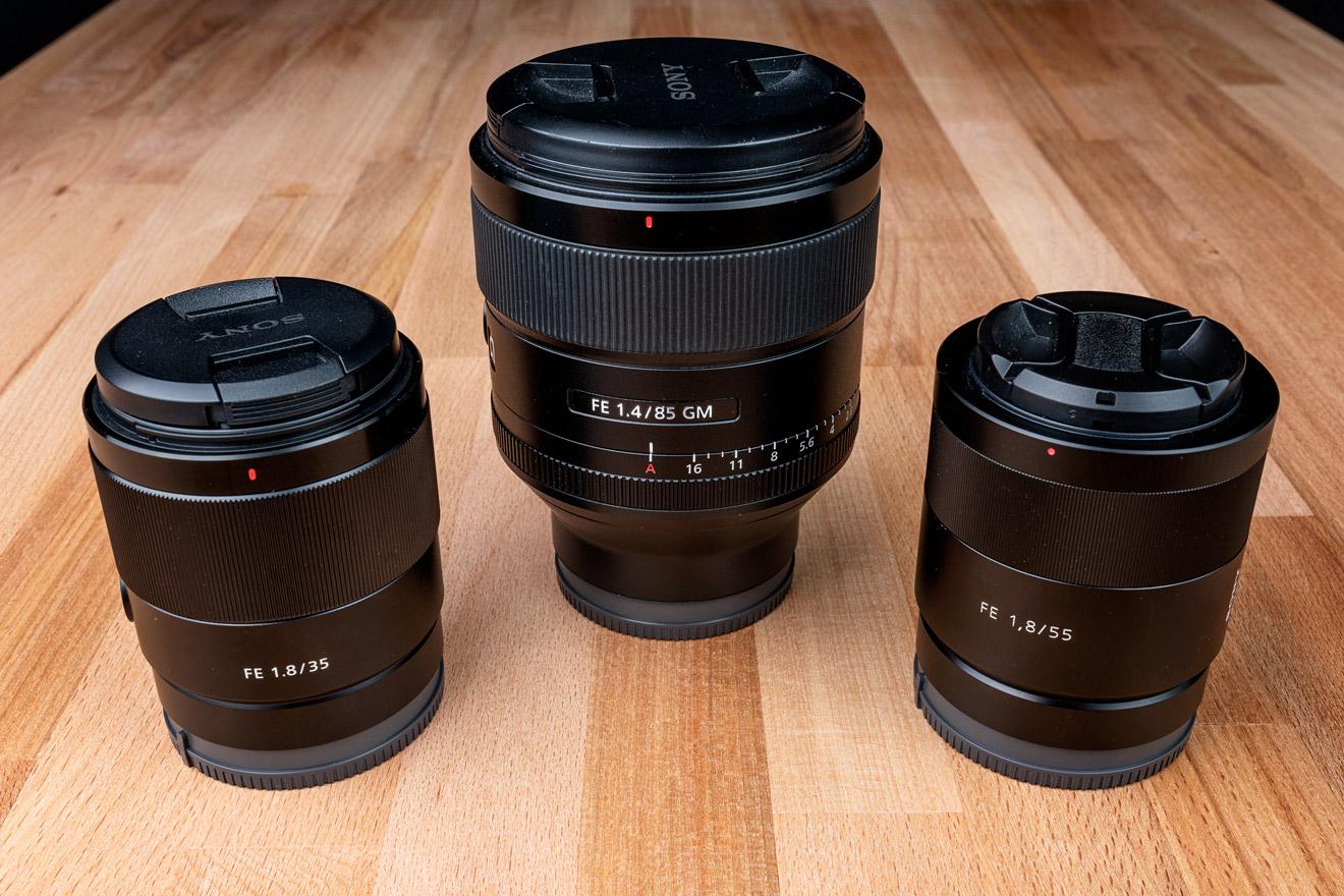 35mm vs 55mm vs 85mm - what portrait lens