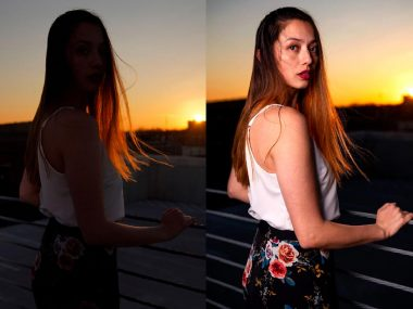 natural light vs flash photography